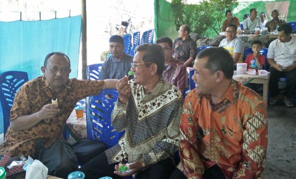 Silaturahmi ke Kediaman Kepala Madrasah di Magelang