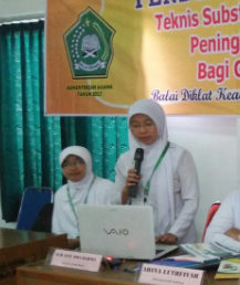 Satu Guru Madsanida Ikuti Diklat di BDK Semarang