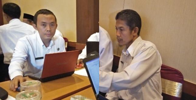 Dua Guru Madsanida Ikuti MGMP se Solo Raya
